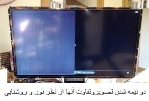 تعمیر صفحه نمایش تلویزیون