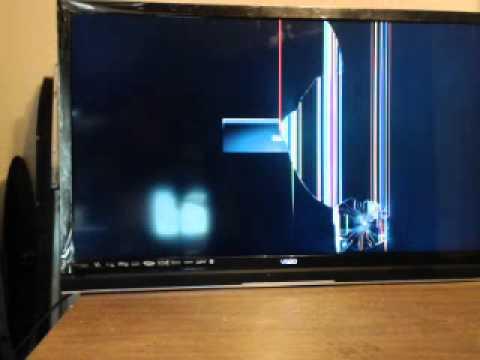تعمیر تلویزیون پنل شکسته