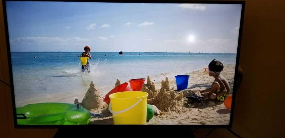 هاله سفید در تصویر تلویزیون
