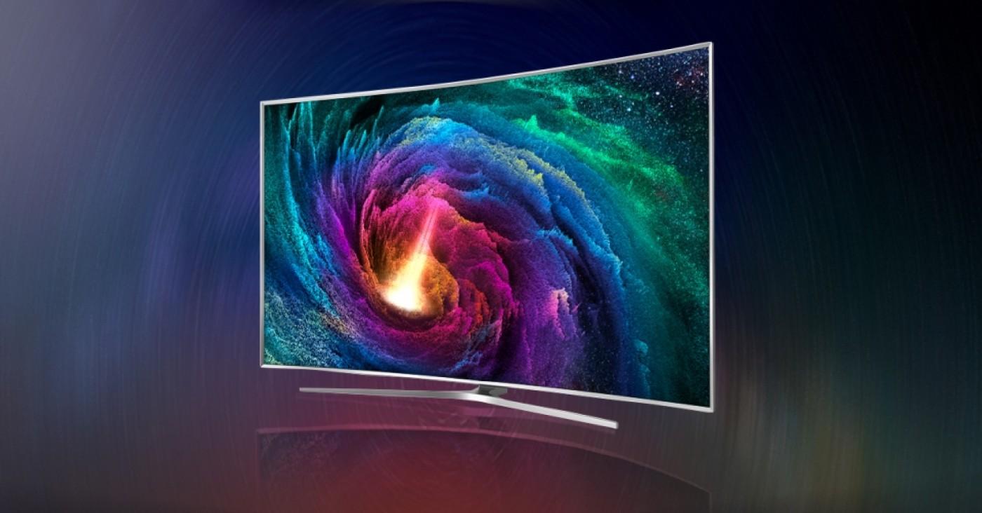 تلویزیون منحنی شکل