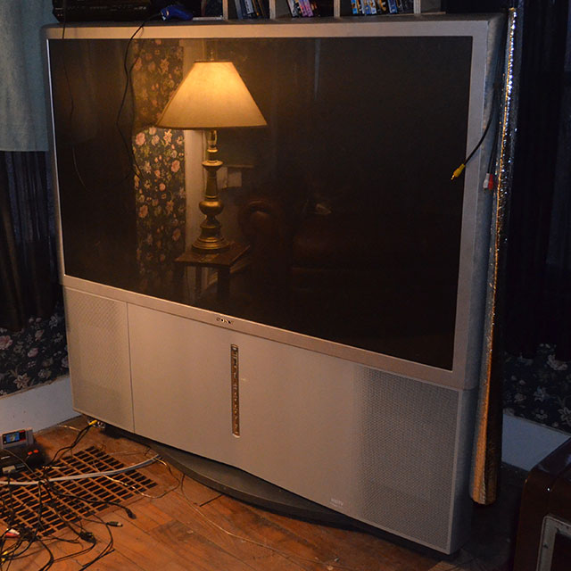 تعمیر تصویر پروجکشن تلویزیون سونی