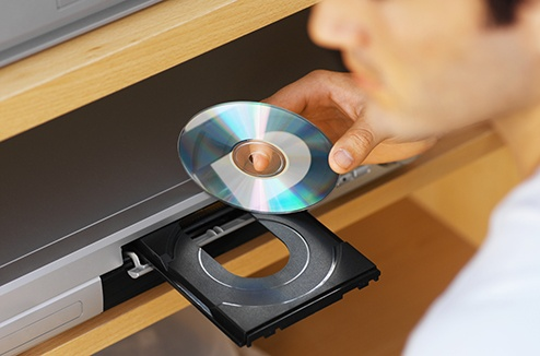 خرابی دیسک دستگاه دی وی دی