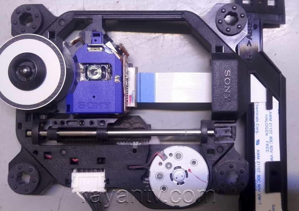 لنز دی وی دی پلیر سونی