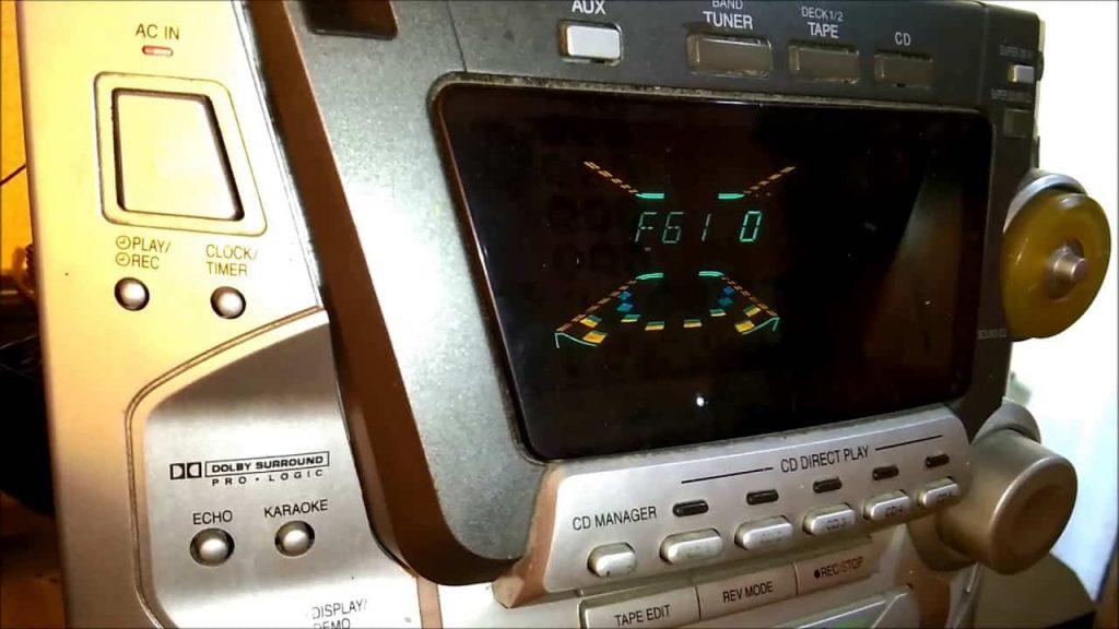 ارور f61 در ضبط خانگی پاناسونیک