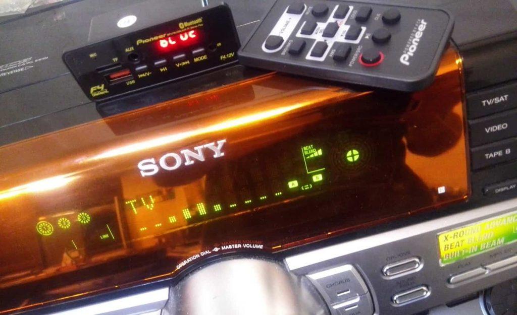 فلش خور کردن ضبط خانگی,نصب بلوتوث روی ضبط صوت خانگی