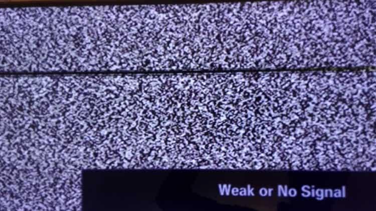 پیکسل سوختگی تلویزیون