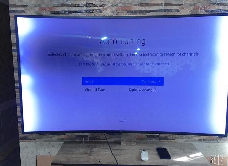 تعمیر بک لایت تلویزیون سامسونگ